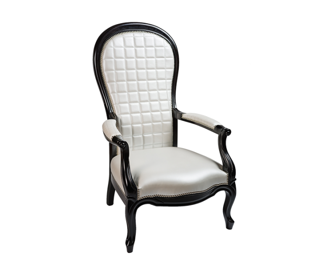 Fauteuil voltaire French cancan